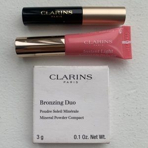 New Clarins Summer Bronze and Shimmer Mini Set